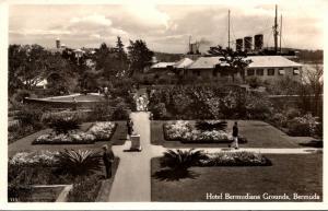 Bermuda Hotel Bermudiana Grounds 1938