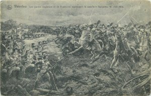 Military & politic leader Napoleon Bonaparte Waterloo 16 june 1815
