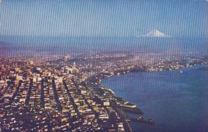 Washington Seattle Aerial View