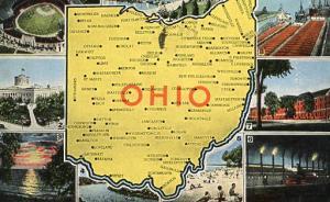 OHIO - Map & Multiview