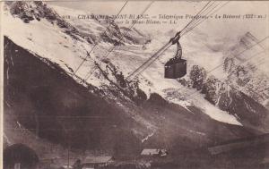 France Chamonix Teleferique Planpraz Le Brevent Vue sur le Mont Blanc 1932