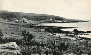 UK - Scotland, Kildonan From West, Isle of Arran, Firth of Clyde    RPPC