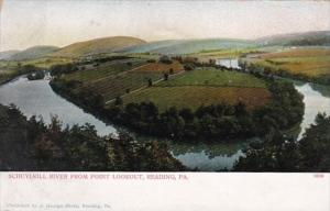 Pennsylvania Reading Schuykill River From Point Lookout