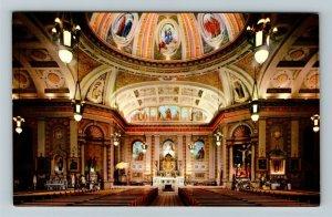 San Jose CA- California, St. Joseph's Church, Religion, Chrome Postcard