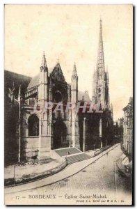 Bordeaux - St. Michael's Church - Old Postcard
