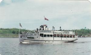 KENORA , Ontario , 1950-60s ; ARGYLE II Departing