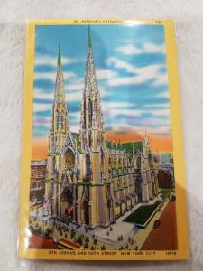 Antique Postcard, St. Patrick's Cathedral
