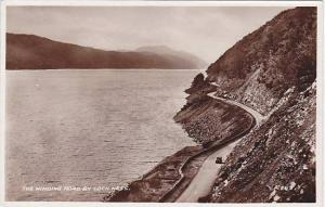RP, The Winding Road By Loch Ness, Scotland, UK, 1920-1940s