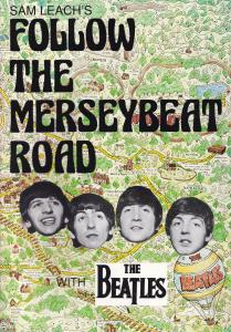 The Beatles Follow The Merseybeat Road Rare Old Music Photo Book