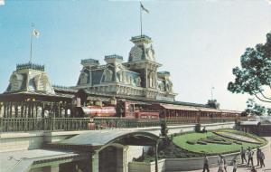 Steam Railroad, Magic Kingdon, Disneyworld, 40-60's