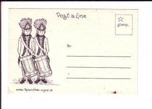 Post a Line, USA Military Sketch, Rachel Peden, Drummers