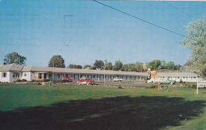 The Village Motel & Restaurant, Highway #2, Ontario, Canada, PU-1987