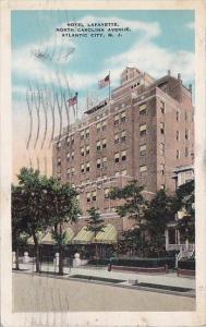 New Jersey Atlantic City Hotel Lafayette North Carolina Avenue 1930