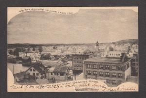 MA Vintage Southeast 1905 view ORANGE MASS Massachusetts Postcard UDB PC