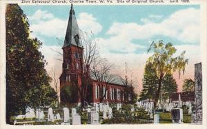 Zion Episcopal Church Charles Town Site Of Original Church West Virginia
