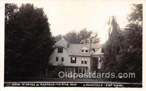 Mentor, OH, USA Home of James A Garfield