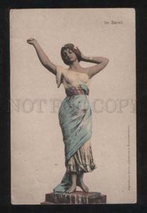057962 BELLE Slave BELLY DANCER Seraglio HAREM vintage PC