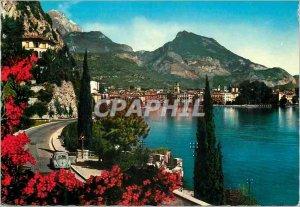 Postcard Modern Riva lago di garda