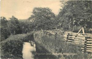 AYPE 1909 Farming Agriculture Irrigation Canal Southern Valley Oregon 12048