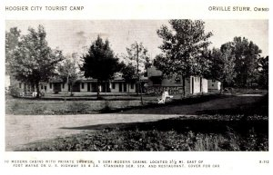 Indiana  Near Fort Wayne Hoosier City Tourist Camp