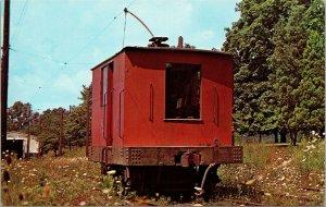 Postcard PA Pennsylvania Arden Trolley Museum Washington East-West Penn Railways