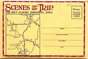 Folder - Bily Brothers Clocks, Ridgeway, Iowa - 20 views + narrative