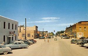 Spearfish South Dakota Main Street Scene Historic Bldgs Vintage Postcard K39071