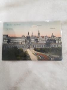 Antique Postcard, Dresden - Kgl. Zwinger