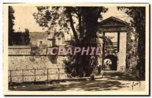 Old Postcard Mont Louis La Porte de France