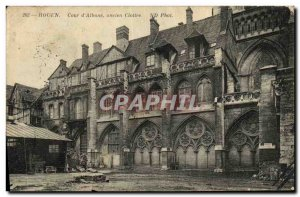 Old Postcard Rouen Court Albano Old Cloitre