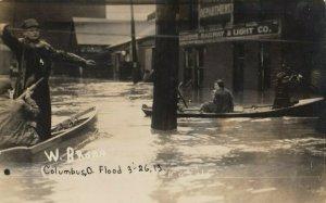 RP: COLUMBUS , Ohio, 1913 ; Flood