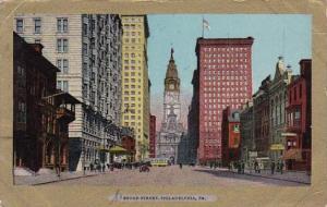 Broad Street Philaddelphia Pennsylvania 1907