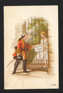 VICTORIAN TRADE CARDS (2) Edwin Burt Shoes Calendars