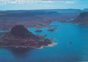 Aerial View Of Upper Lake Powell Utah