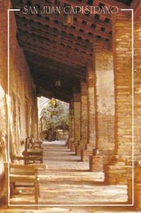 California San Juan Capistrano Mission Old Mission Ruins
