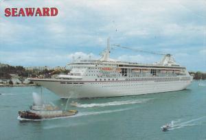 Norwegian Cruise line Ship SEAWARD , PU-1991