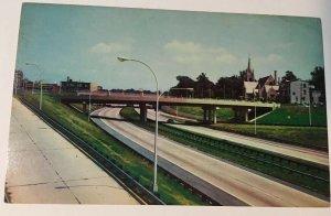 Interstate 95 Wilmington Delaware Postcard Highway Roadside