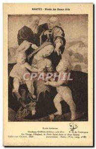 Old Postcard Nantes Musee Des Beaux Arts Girolamo Genga Virgin L & # 39enfant...
