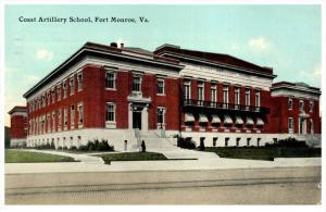 21692 VA Fort Monroe   Coast Artillery School