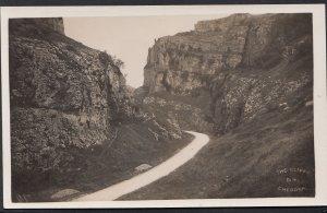 Somerset Postcard - The Cliffs at Cheddar    1835