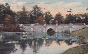 Illinois Bloomington Scene In Miller Park