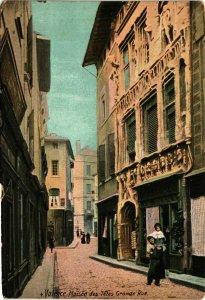 CPA Drome VALENCE Maison des Tetes Grande Rue (982140)