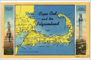 Cape Cod and the Pilgrimland