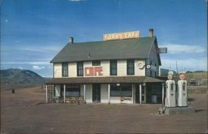 Livermore CO Forks Hotel Caf' Gas Station Postcard