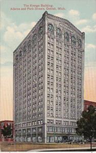Michigan Detroit The Kresge Building Adams and Park Streets