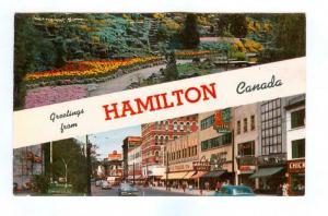 HAMILTON , Ontario, 40-60s; Rock Gardens & King Street