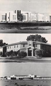 Visalia CA~Sierra Vista Grammar~Carrie Barnett~Jr College~Art Deco Schools~1948