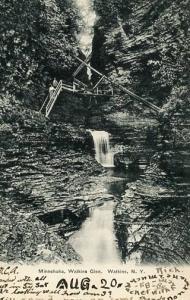 NY - Watkins Glen. Minnehaha Falls