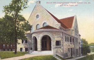 Beacon Hill Congregational Church - Kansas City MO, Missouri - pm 1909 - DB
