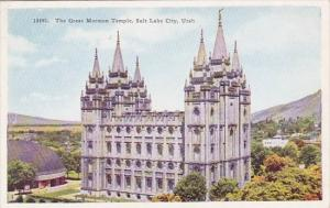 Utah Salt Lake City The Great Mormon Temple